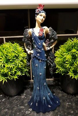 Art deco Style Lady figure , Beautiful , see photos