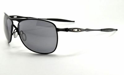 598d1a822c Oakley CROSSHAIR OO4060-03 Matte Black   Black Iridium Lenses Sunglasses