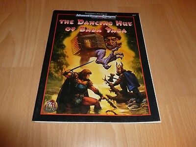 AD&D The Dancing Hut of Baba Yaga TSR Englisch