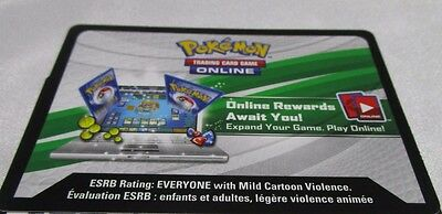 Pokemon Online TCG LEAF CHARGE SM Celestial Storm Theme Deck CODE CARD. e-mail