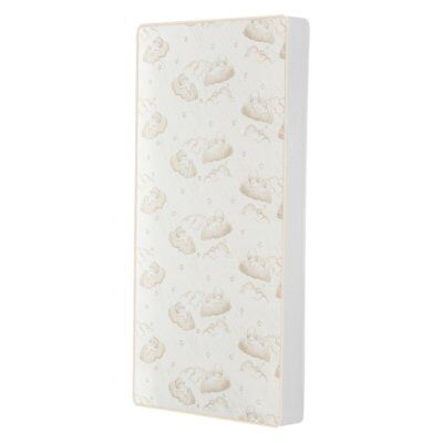 2-in-1 Breathable Twilight 5 in. Spring Coil Crib and Toddler Mattress by Dream