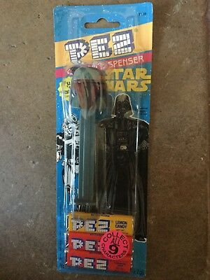 NIP VIintage,Retired 1997 Star Wars Boba Fett Pez Dispenser-Factory Sealed