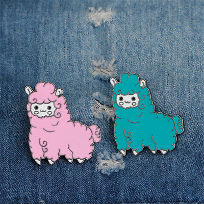 Sheep Enamel Pin Icon Collar Brooches Lapel Pin Brooch ClothingBag AccessoriesGX