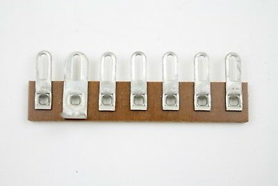 20 pcs 7 Lug 1 Mount Vintage Phenolic Terminal Tie Strip Vtg Electronics Repair