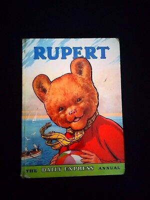 Rupert The Daily Express Annual 1959 Vintage Childrens Hardback