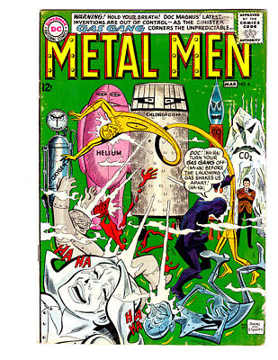 THE METAL MEN #6 in FN condition a 1964 Silver Age DC comic