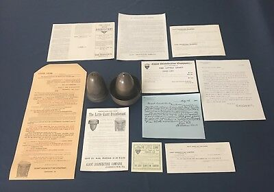 Antique Medical Apparatus Little Giant Disinfectant Johnstown PA Paper Promotion