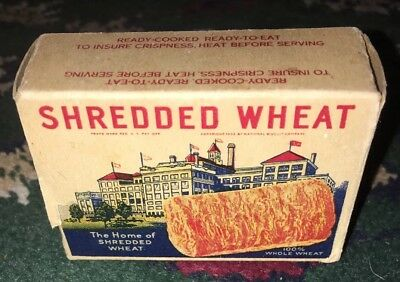 Free Sample NABISCO SHREDDED WHEAT CEREAL BOX 1 Biscuit NIAGARA FALLS