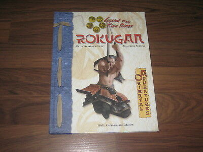 L5R Rokugan Oriental Adventures Campaign Setting HC Legend of the 5 Rings d20