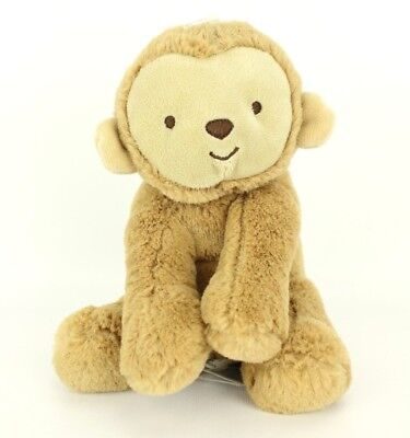Carters Child of Mine Monkey Rattle Lovey Clutch Plush Stuffed Animal Baby Toy