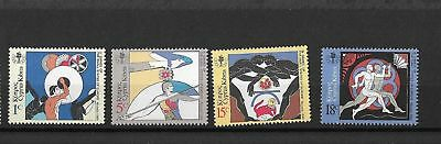 [A144] Cyprus Issued 10/04/1989 3rd Small European State's Games MNH set.