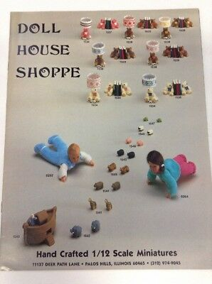 Preowned 1988 Doll House Shoppe Product Catalog