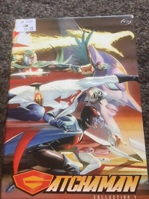Gatchaman Collection 1 Volume 1 Volume 2 Extra Features 1