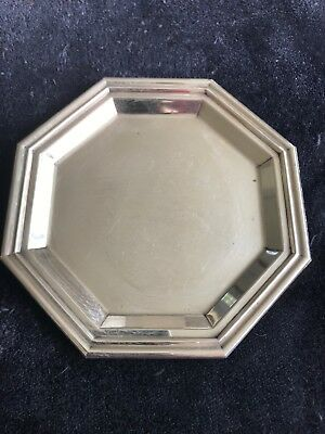 800 Coin Silver Tray From Italy