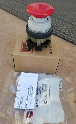Eaton HT8CBR 2-POS PUSH-PULL BUTTON RED - New