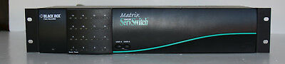 BLACK BOX #SW743A-R3 Matrix ServSwitch for PC, 2 Users x 16 CPUs, FREE SHIPPING