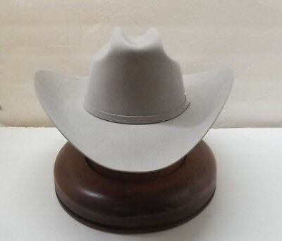 73f11114d2a 30X STETSON HAT BEAVER FUR-EL PATRON-MistGrey -NEW NO TAX SELL+
