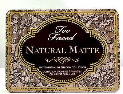 TOO FACED Natural Matte Neutral Eyeshadow Palette New in Box Authentic