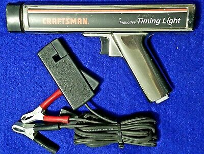 Sears Craftsman Inductive Timing Light Gun 28-2134 Untested As Is