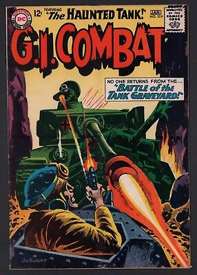 G.I. Combat #109 VG 4.0 Off White Pages Grey Tone