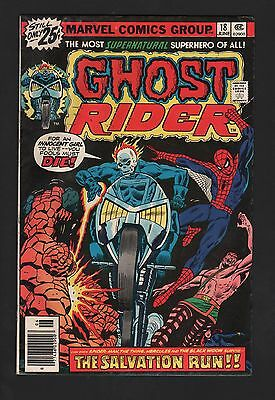 Ghost Rider #18 VG- 3.5 Off White Pages
