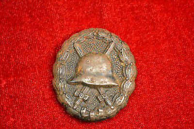 Wwi Imperial German Wound Badge Black Original Example Ww1 Germany