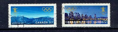 Canada - 2010 Vancouver Winter Olympics - Scott 2367 To 2368 - Used