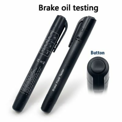 Auto Brake Fluid Oil Tester Detection Pen LED indicator Car Electronic Test Tool