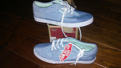51b12c7f161 NEW  54 WOMENS Vans Atwood Low Textile Shoes