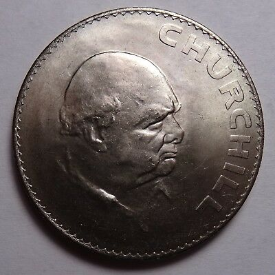 UNC 1965 Great Britain Crown coin , Winston Churchill, in box, UK coins
