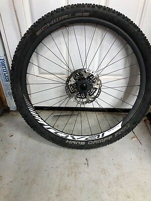 """8412622a22c Specialized Roval Traverse SL Carbon 29"""" wheel set with XX1 cassette and  rotors"""