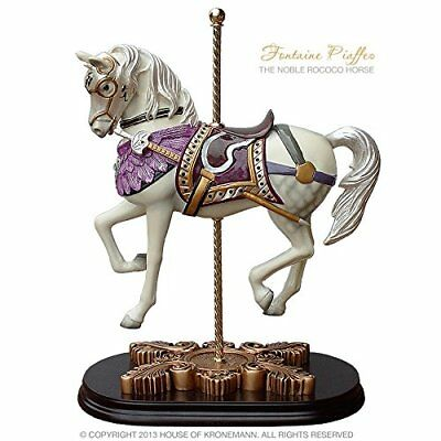 The House of Kronemann Limited Edition Carousel Horse Fontaine Piaffe.
