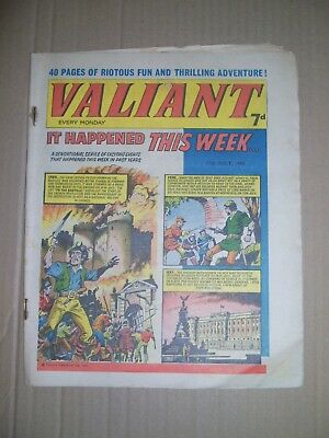 Valiant issue dated July 17 1965