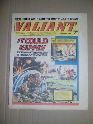Valiant issue dated March 11 1967