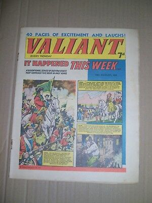 Valiant issue dated August 14 1965