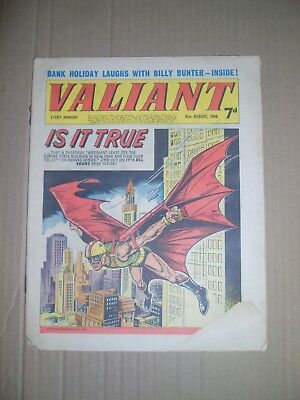 Valiant issue dated August 31 1968