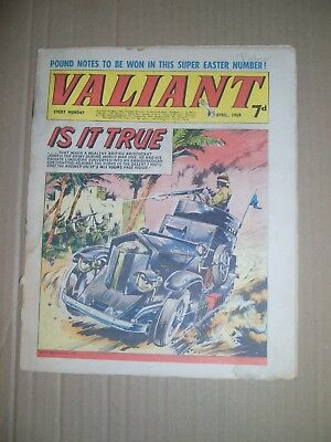 Valiant issue dated April 5 1969