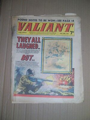 Valiant issue dated June 10 1967