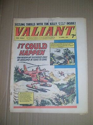 Valiant issue dated April 1 1967