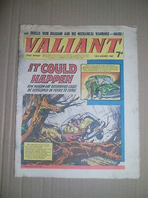Valiant issue dated January 28 1967
