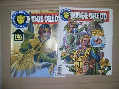 Mixed lot of Complete Judge Dredd issues 8 and 9