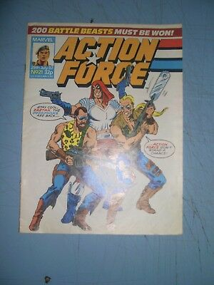 Action Force issue 21 Marvel UK 1987