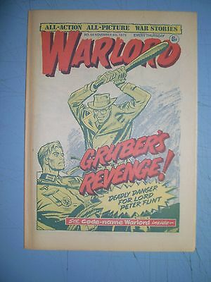 Warlord issue 59 dated November 8 1975