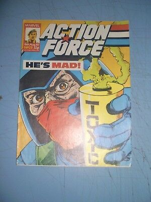 Action Force issue 23 Marvel UK 1987