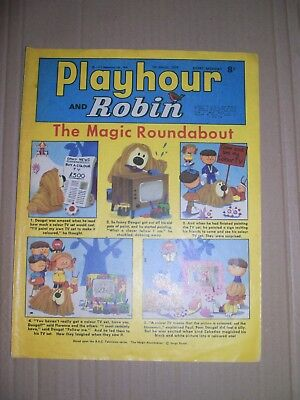 Playhour and Robin issue dated March 7 1970