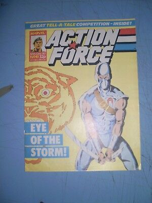 Action Force issue 41 Marvel UK 1987