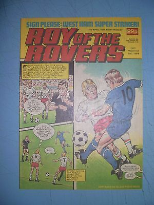 Roy of the Rovers issue dated April 21 1984
