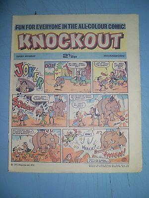 Knockout issue dated August 26 1972