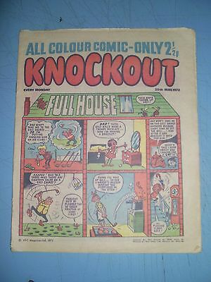 Knockout issue dated May 20 1972