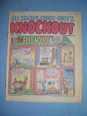 Knockout issue dated October 2 1971